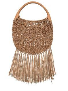 Designer Clothes, Shoes & Bags for Women Fringe Purse, Fringe Bags, Leather Purses, Leather Handbags, Calf Leather, Leather Bag, Luxury Shop, Hobo Bag, Straw Bag