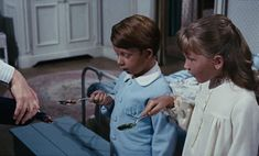 In Mary Poppins when Mary Poppins gives Jane and Michael their medicine they each receive different colour medicine from the same bottle as each person has a different favourite flavour. Mary Poppins 1964, Obscure Facts, Jane And Michael, Recent Movies, Movie Trailers, Different Colors, Medicine, Tv Shows, In This Moment