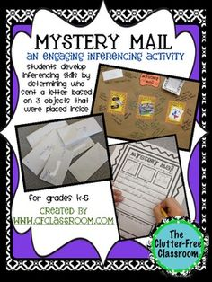 MYSTERY MAIL: A Super-Engaging Inferencing Activity - think this might work for geography somehow.