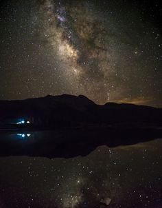 Milky way over Molas