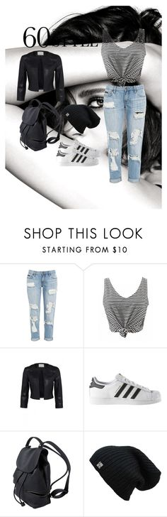 """""""60 sec style"""" by ranya-ket ❤ liked on Polyvore featuring Chanel, adidas, men's fashion, menswear, DRAKE, views and 60secondstyle"""