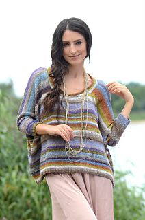 Kaori by Claudia Wersing  Published in Noro Favourites