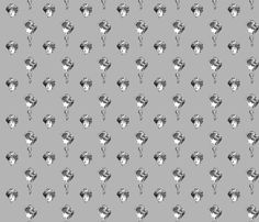 Danita's Gibson Girls fabric by midcoast_miscellany on Spoonflower - custom fabric