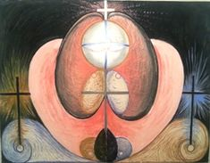 Painter Hilma af Klint (October 1862 – October is currently said to be the new Swedish discovery in painting. Klimt, Abstract Painters, Abstract Art, Hilma Af Klint, Christian Symbols, Artist Art, Fiber Art, Evolution, Book Art