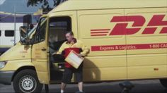 'DHL is faster' PR stunt