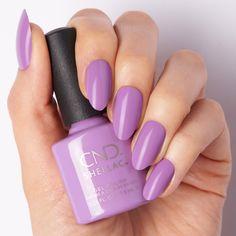 Vinylux Nail Polish, Cnd Vinylux, Cnd Shellac Colors, Nail Polish Colors, Lilac, Purple, Gel Nails, Nail Designs, Collections