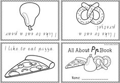 ABC Foldable Readers - phonics focus - one page readers. By Luck's Little Learners.