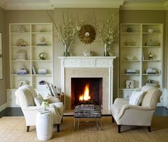 Design For Fireplace Mantle Decor Ideas Design Ideas with Beautiful Interior Decorating for Home Design Architecture Fireplace Mantel Decor, Room Design, Cozy Fireplace, Interior, Home, Fireplace Design, Beige Living Rooms, Fireplace Seating, Home And Living
