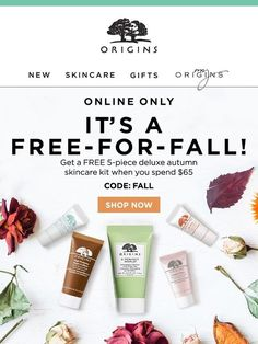 5 FREE Deluxe Essentials for Your Fall Skincare Routine - Origins