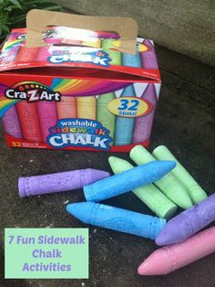 Summer Fun Activities You Can Do With Sidewalk Chalk