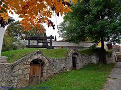 Pincék Erdőbényén - Hungary
