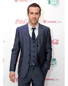 The suit, not Ryan Reynolds (although most women might disagree), is the true beauty in this photo