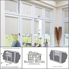 No Tools Needed! Designed especially for UPVC windows and conservatories. Upvc Windows, Blinds For Windows, Perfect Fit Blinds, Blinds Online, Conservatories, Home Improvement, Inspirational, Curtains, Tools