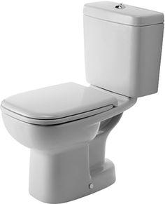 Golvstående Toalettstol Duravit D-Code Kombiation 211101