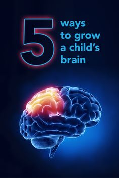 Your child's brain is a muscle - exercise it!