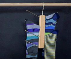 How do I hang... socks? Toscanini accessories can hang (almost) anything