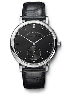 307.029 A.Lange and Sohne Grand Saxonia Automatik - швейцарские мужские наручные часы - золотые, черные