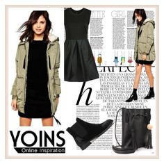 """""""YOINS 31"""" by djulovic-mirela ❤ liked on Polyvore featuring Whiteley, MustHave, fall2015 and yoins"""