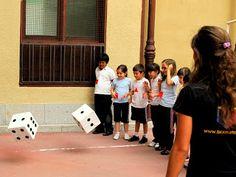 Matemáticas en el patio del colegio - Tocamates.com