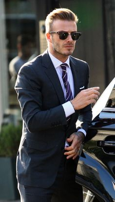 The men can be fashion too, here's the prove: David Beckam