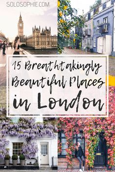 15 beautiful places to visit in London you'll just love! Cute coffee shops, pretty public gardens and small quirky museums you must see on a visit to the capital of the UK. (London, England) #london #travel #england #europe