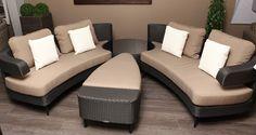 Wicker Lounge Bed Kussens All Weather Prestige Luxery Trendy