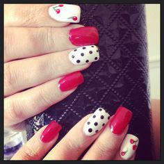 Nails by me #nails #gelish See more at http://www.nailsss.com