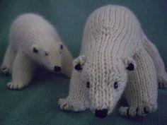 Peabey the Polar Bear by Snowden Becker amigurumi crochet Crochet Bear, Crochet Dolls, Kawaii Crochet, Knitting Projects, Crochet Projects, Knitting Toys, Crafty Projects, Knitting Ideas, Knitting Patterns Free