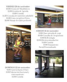 En la revista online de SHA Wellness Clinic nos hacen un resumen de la estancia de Mariam Hernández... ¿Y sabéis qué lleva en la foto de abajo a la derecha? ¡Conjunto de Lorna Jane! <3<3<3