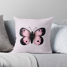 Pink Butterfly, Canvas Prints, Art Prints, Comforters, Chiffon Tops, My Arts, Throw Pillows, Printed, Awesome