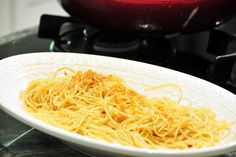 How to Make Garlic Butter Sauce for Spaghetti