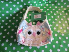 Small Owl bag... Very cute  visit facebook.com/Happy.Hayes.Bespokebagsandaccessories