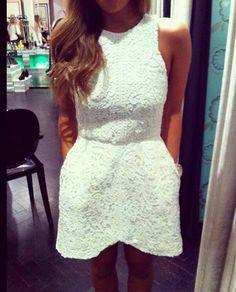 Textured dresses.