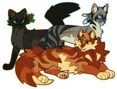 bad dad by snowylynxx on DeviantArt Warrior Cats Series, Warrior Cats Books, Warrior Cats Art, Pretty Cats, Cute Cats, Cat Anatomy, Cat Jokes, Fox Dog, Cat Drawing