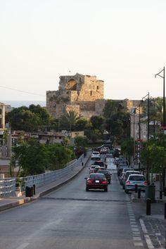lebanon, byblos street scene