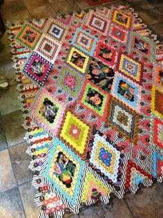 Mary Tolman quilt started in a workshop with Brigitte Giblin.