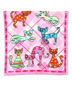 Loving this Calico Cat Velour Towel on #zulily! #zulilyfinds