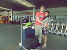 Before leaving