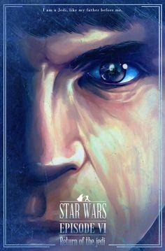 Star Wars Episode VI Return of the Jedi by Nicolas Alejandro