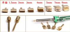 Electric leather tools copper Edge Creaser от PrincessMoissanite
