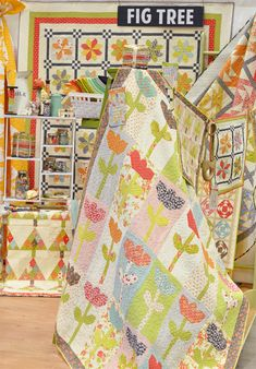 Fig Tree - Quilt Market Spring 2015 Minneapolis