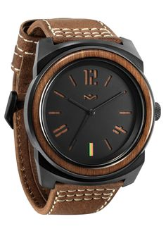 House of Marley Capsule Leather Harvest Watch