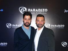 "Presentación Paradizo Private Collection ""The Essential"" en Radisson Blu Madrid Prado — Moisés Nieto junto a Toni Delgado, CEO de MOS"