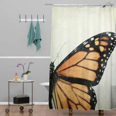 Chelsea Victoria The Monarchy Shower Curtain | DENY Designs Home Accessories