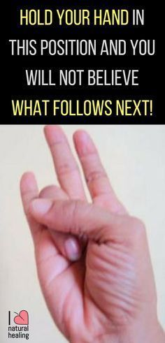 Mudras: Hold Your Hand In This Position And You Will Not Believe What Follows Next!