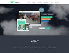 Elegance - Responsive One Page HTML TemplateElegance is a Flat modern and stylish parallax HTML Template. It's fully responsive and optimized for tablet. Free Html Templates, Bootstrap Template, Font Face, Call To Action, Best Sites, First Page, Web Design, Flat Design, Elegant
