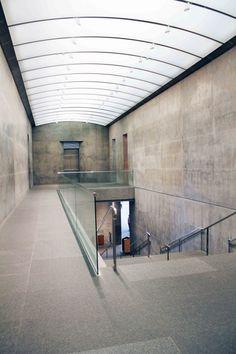 Prospective Photo Essay: Kimbell Art Museum & Modern Art Museum of Fort Worth (28) Museum Of Modern Art, Art Museum, Fort Worth Museum, Art Essay, Louis Kahn, Tadao Ando, Photo Essay, Design Museum, Skylight