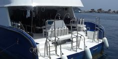 Manta Queen 3 dive deck www.liveaboardadvisor.com