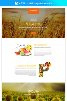 Agriculture HTML Template