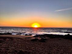Sunset @ Praia de Valadares.